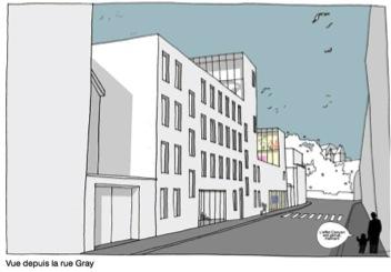 Contrat de Quartier Maalbeek Gray Garage 1