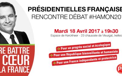 18 avril 2017 : Débat – Présidentielles #Hamon2017