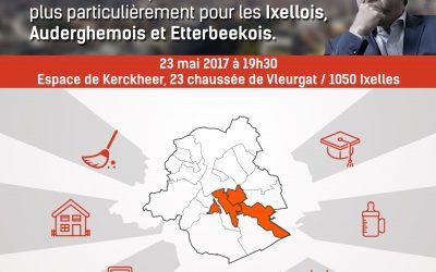 23 mai 2017 : Rencontre – Rudi Vervoort