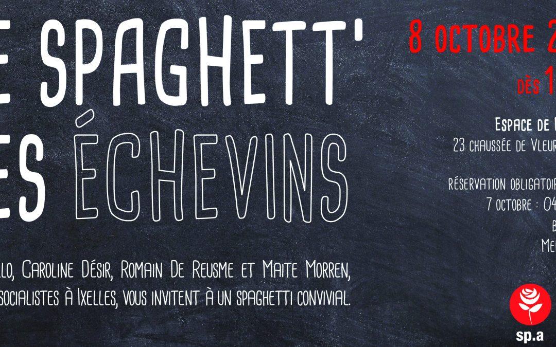Invitation : Le spaghett' des échevins
