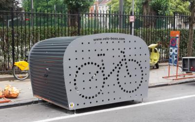 Ixelles : 5 nouveaux box vélos