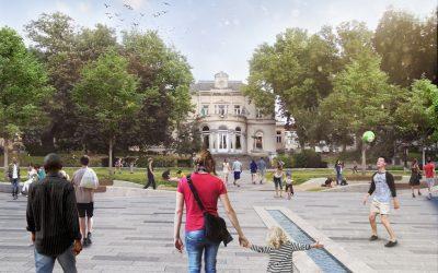 Réaménagement de la Chaussée d'Ixelles et de la Place Fernand Cocq