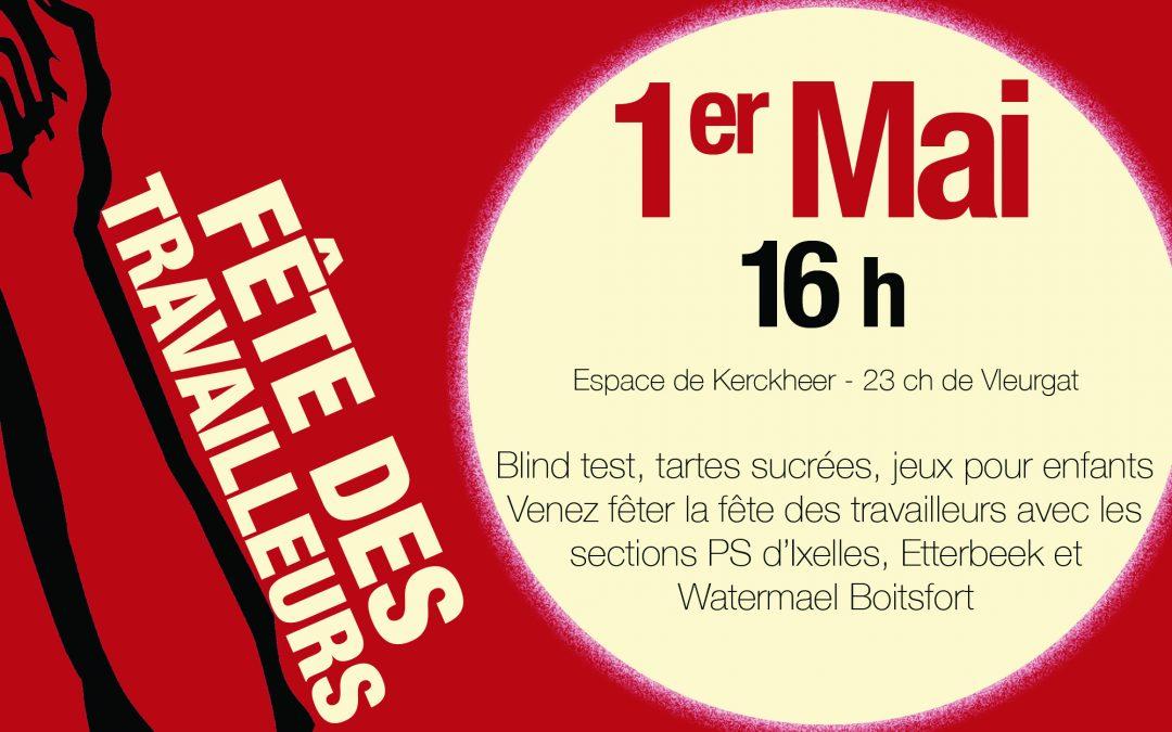 1er mai : Fête des travailleurs