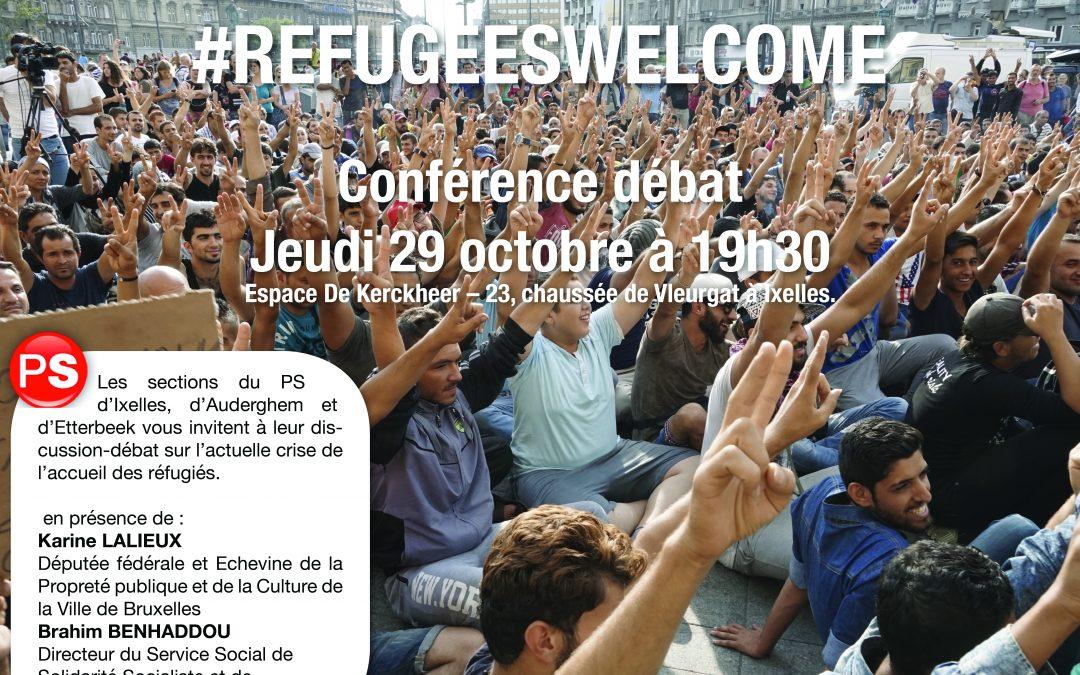 29 octobre 2015 : Débat – #RefugeesWelcome